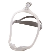 Respironics DreamWear Nasal CPAP Mask-Medium Frame and Headgear and All Cushions 1116700
