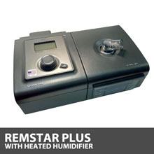 Respironics System One REMstar Plus CPAP Machine with Heated Humidifier DS260HS