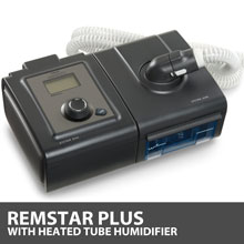 Respironics System One REMstar Plus 60 Series CPAP Machine with Heated Tubing Humidifier DS260TS