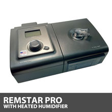 Respironics System One REMstar Pro CPAP Machine with Heated Humidifier DS460HS