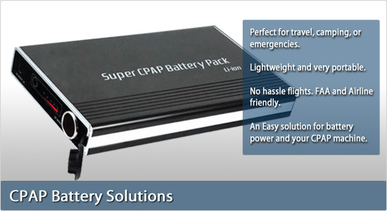 Super CPAP Battery Pack