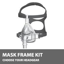 F&P 432 Full Face CPAP Mask Kit, No Headgear MK-FP-432