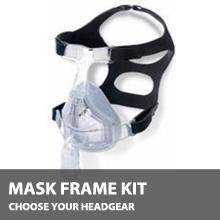 F&P Forma Full Face CPAP Mask Kit, No Headgear MK-FP-FORMA