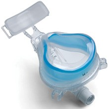 Respironics ComfortGel Blue Full Face CPAP Mask with Headgear 108180X