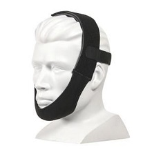 AG Industries Around The Ear Black Adjustable Chin Strap AG302000
