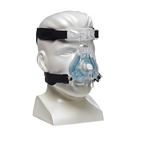 Respironics ComfortGel Blue Nasal CPAP Mask FitPack with Headgear
