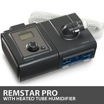 Respironics System One REMstar Pro CPAP Machine & Heated Tube Humidifier DS460TS DS460TS